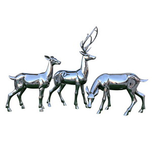 stainless steel deer