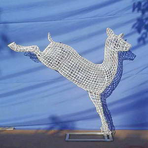 deer metal art
