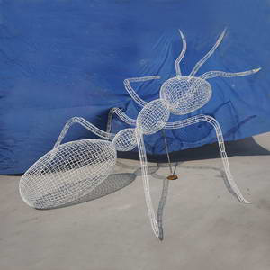 Insect wire sculpture