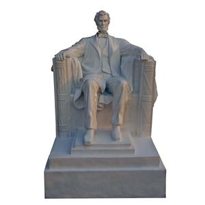 large Abraham Lincoln statue