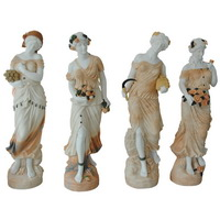 four seasons goddess statues