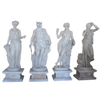 Greek Roman statues