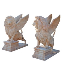 marble Winged lion statue