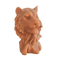 marble Tiger head statue